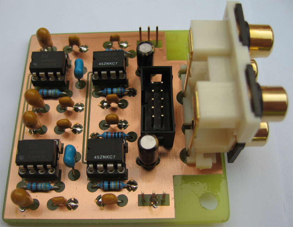 Class A Headphone Amplifier With Buf634 Bygselvhifi Head Phone Circuit Projects Files