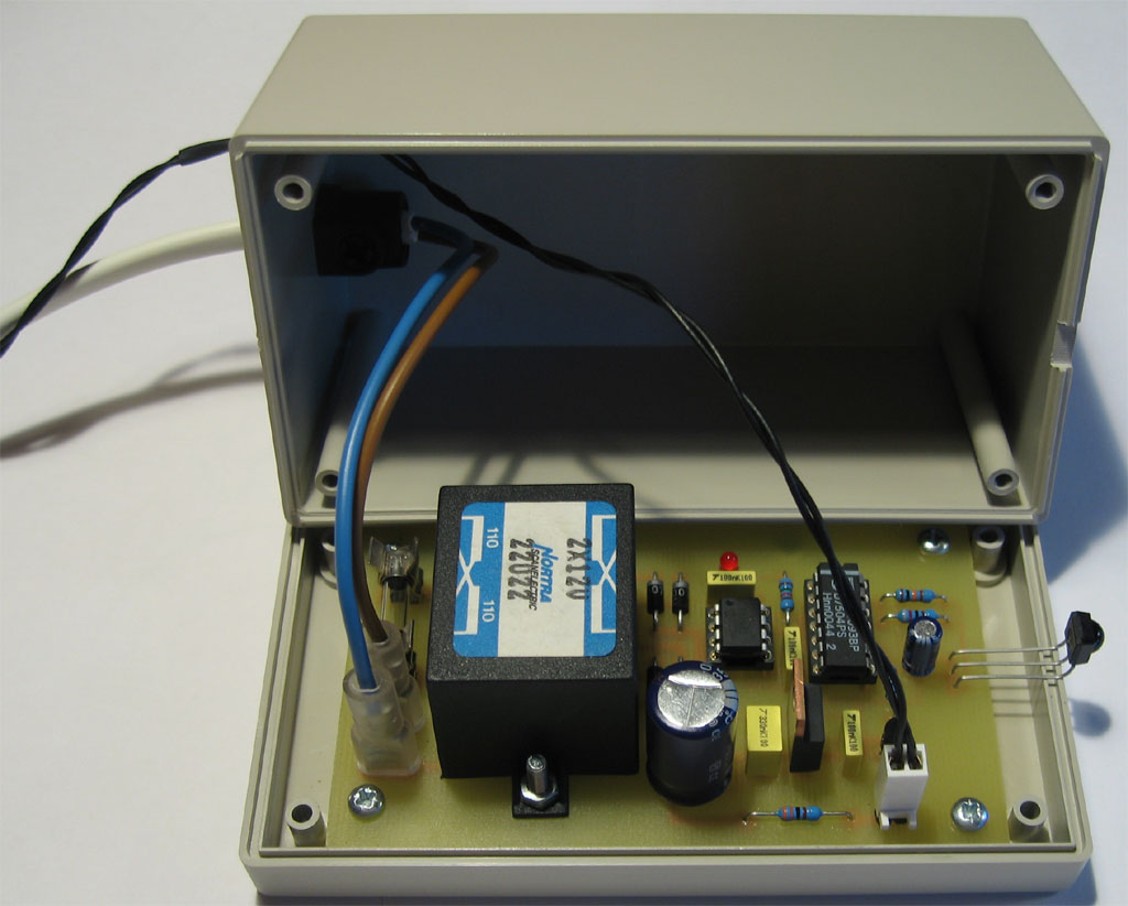 Ir Extender For Philips Rc5 6 Remotes Bygselvhifi Remote Control Transmitter Projects Files